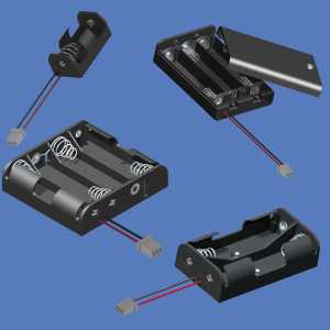 Keystone Europe MEA+India - Battery holders PC connectors
