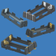 Keystone Europe MEA+India - Low Profile 20700 & 21700 Lithium-Ion Battery Holders